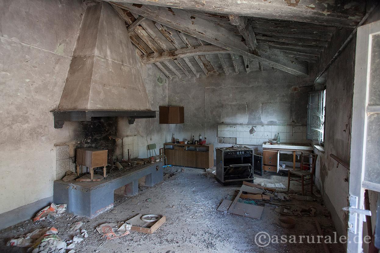 Bauernhäuser, Landgüter und Villen in Italien - GALERIE I - Räume