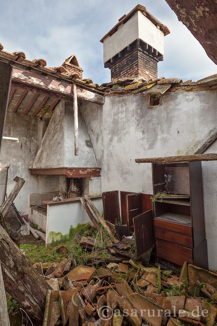 Bauernhäuser, Landgüter und Villen in Italien - GALERIE - Zerfall